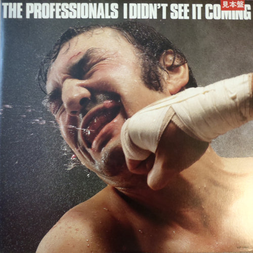 The Professionals I Didn't See Ot Coming Japanese Promo